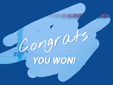 Congrats you won