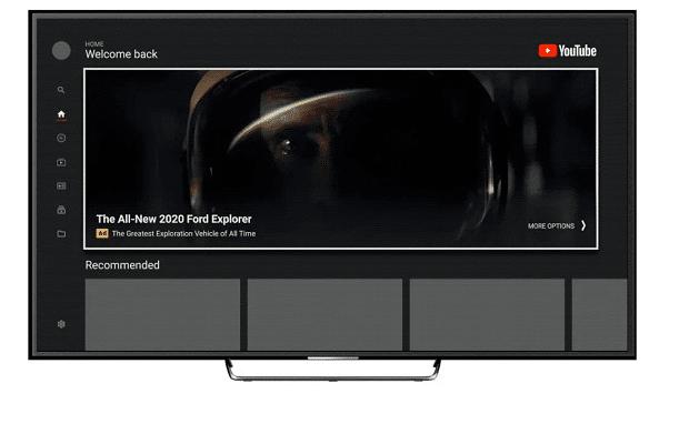 YouTube takes masthead ads to TV screens
