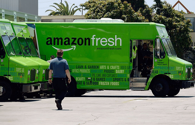 Amazon makes grocery deliveries free in London