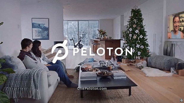 Ad fail: Peloton under fire for 'sexist' Christmas advert