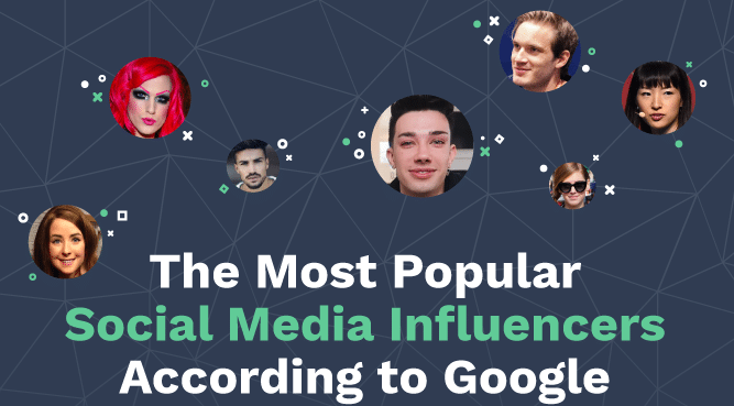 Infographic: The 30 most popular social media influencers in the world