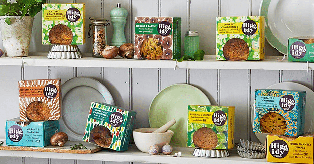 Savoury pastry brand Higgidy appoints Kazoo to run its Pie Week PR campaign
