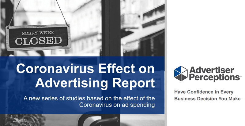 Nearly half of all US advertisers have stopped campaigns already in progress due Coronavirus