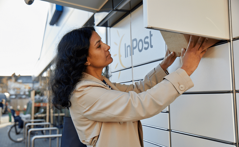 InPost locker usage triples in March, launches 'Next Day Send' service