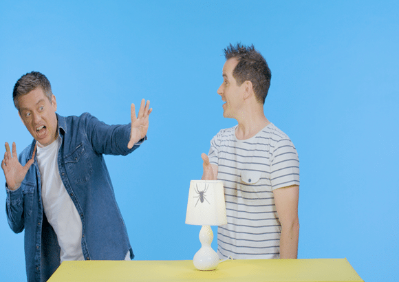 MAOAM team with Dick and Dom to set 'Mischief Missions' for locked-down parents and kids