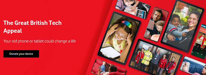 Vodafone and Barnardos team up to offer tech donations for families in need