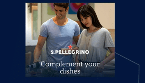 Case study: San Pellegrino tests different ad creative to optmise campaigns