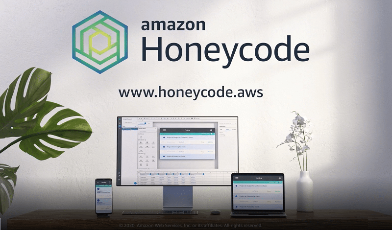 No programming required: Amazon Web Services launches 'Honeycode' to help businesses build apps and websites