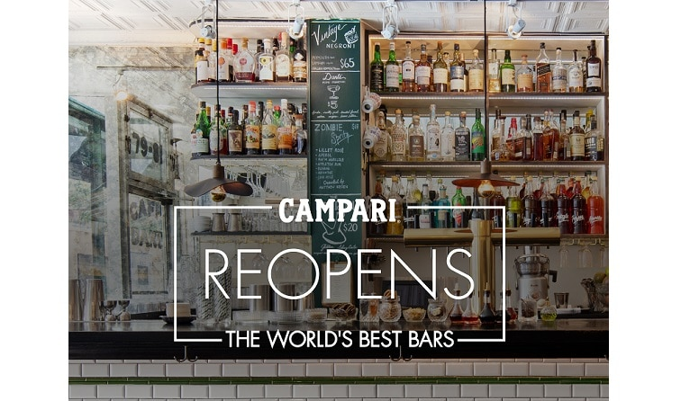 Campari reopens 'World's Best Bars' with virtual event