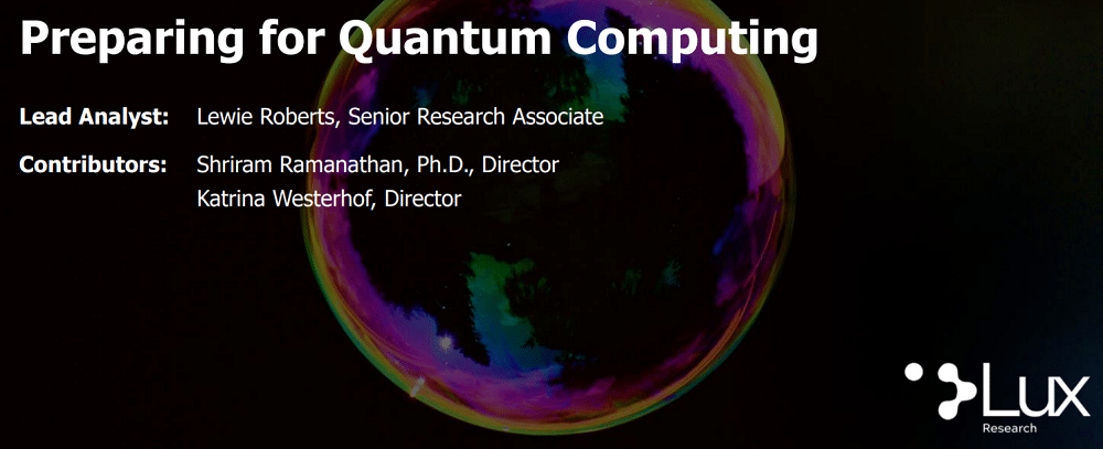 Will ultra-fast quantum computing provide value to most companies in the short term?