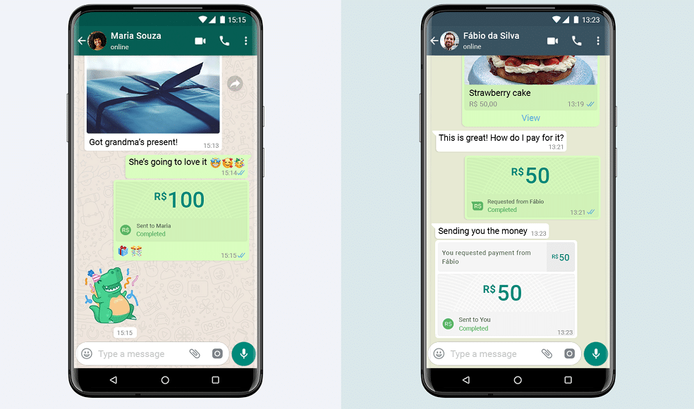 WhatsApp launches in-app digital payments service