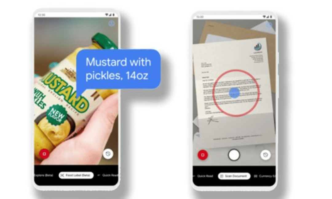 Google revamps Lookout: App reads grocery labels for blind people