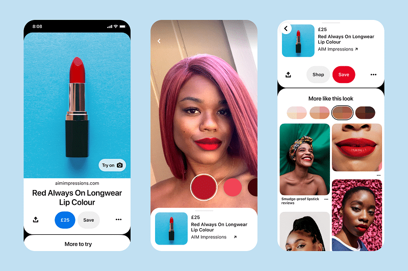 Fashion and beauty trends: Pinterest data shows rise in personalised beauty searches