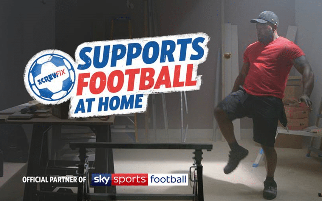 Screwfix continues to be the 'Official Partner of Sky Sports Football'