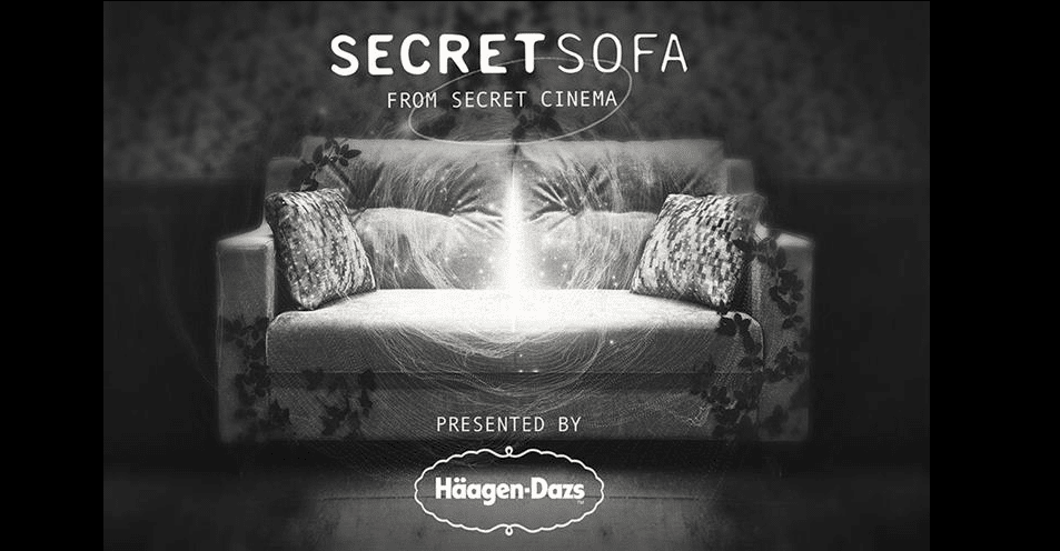 Häagen-Dazs runs influencer campaign #HaagIndoors for Secret Sofa