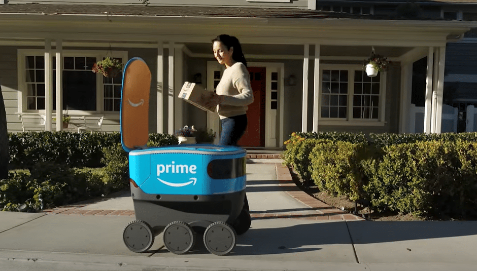 Amazon plans self driving delivery boxes for UK market