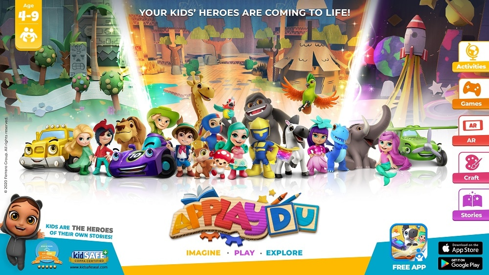 Kinder partners Gameloft to bring toys to life with AR app Applaydu