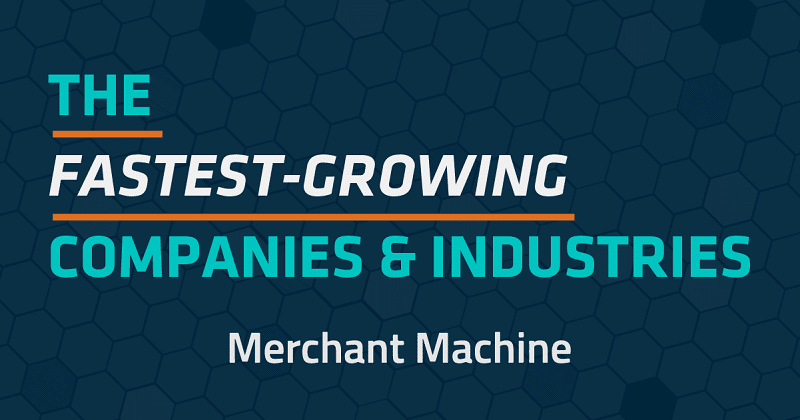 Technology ranks as the top industry for fast-growing companies