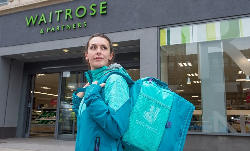 Waitrose partners Deliveroo for super fast grocery delivery