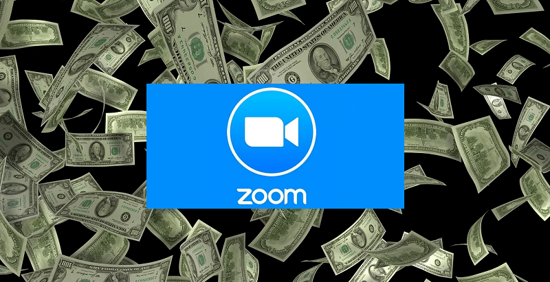 Zoom sales quadruple again (but stock falls)