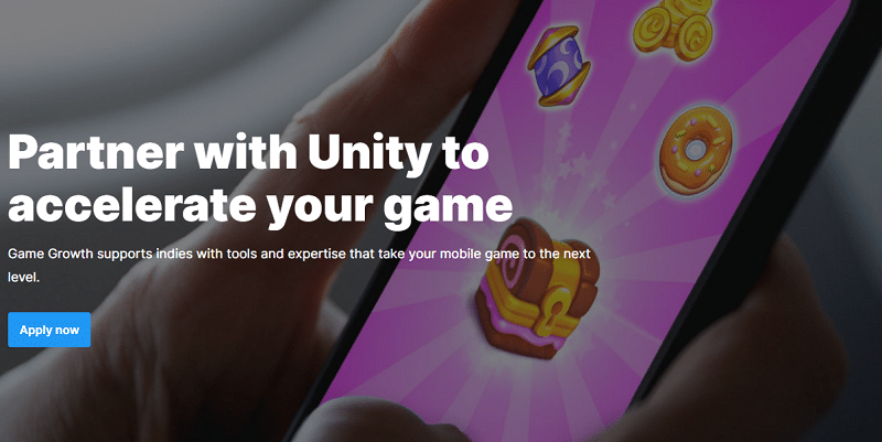 Unity boosts indie game developers with game growth program