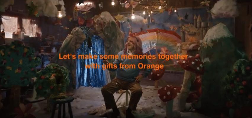No filter: Orange France launches funny festive ad 'Unicorn Grandad'