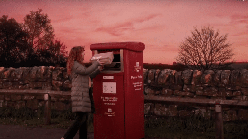 Royal Mail launches video campaign advert in anticipation of festive parcels boom