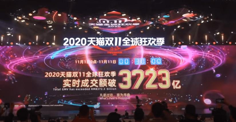 Bigger than Black Friday: China's Singles Day sets new online sales record