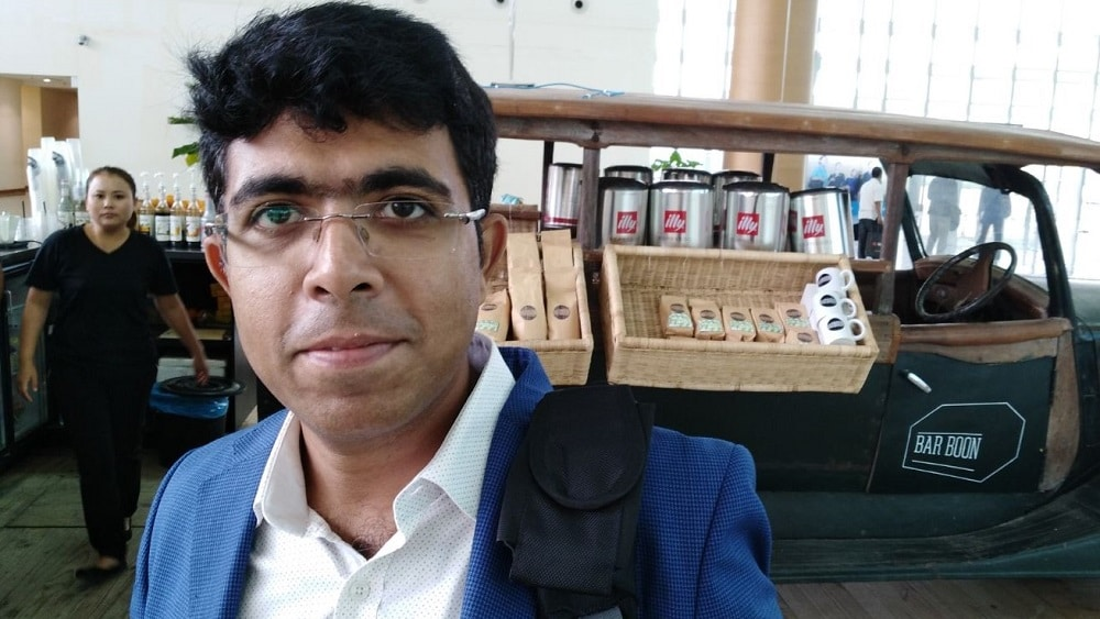 Regional marketer Sudeep Chatterjee – Myanmar