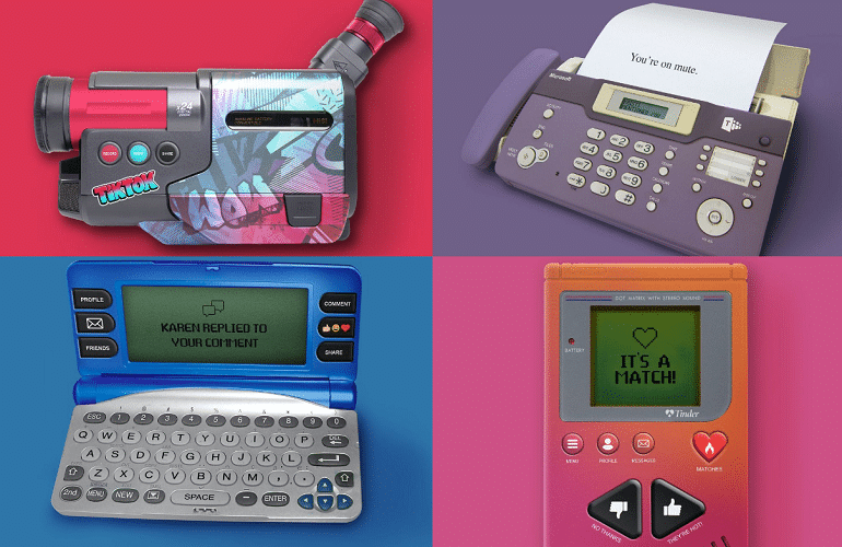 Back to the future: Modern apps reimagined for the 1990s