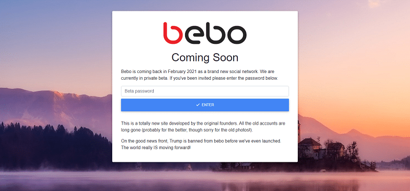 Blast from the past: Social network pioneer Bebo makes surprise return
