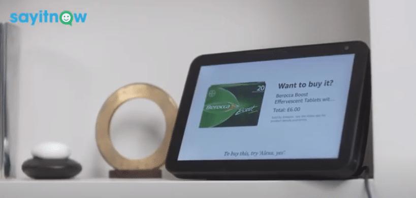 Berocca first to use 'actionable audio ad' on live radio via Alexa
