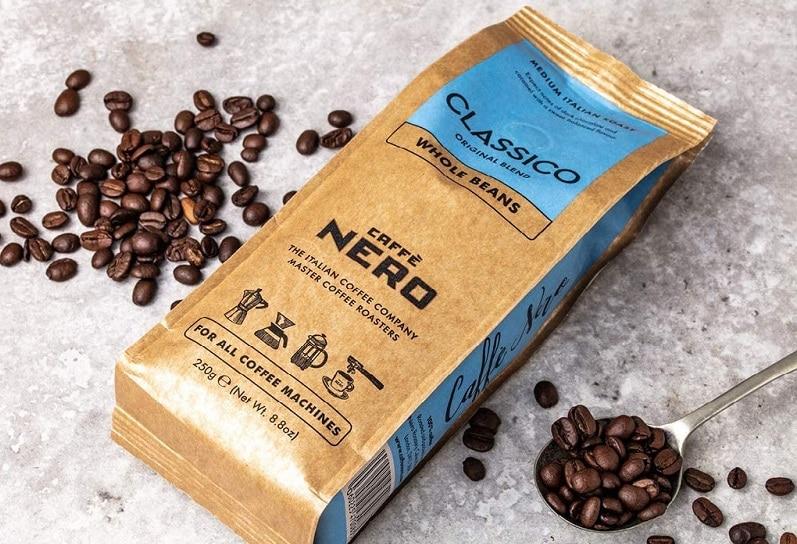 Caffè Nero launches on Amazon, picks Tambo to optimise sales