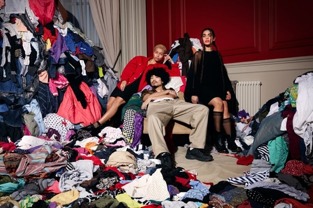Vanish highlights clothes waste with London Fashion Week photoshoot