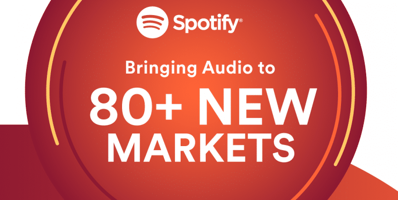 Spotify to expand to 80 more markets worldwide