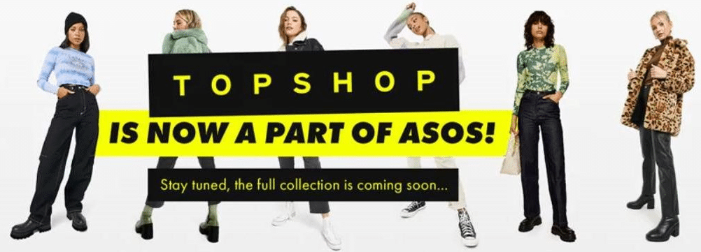 Topshop and Miss Selfridge to go digital-only in £330m ASOS deal