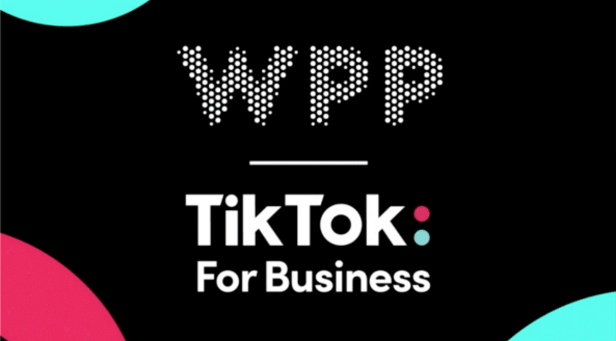 WPP and TikTok strike global agency partnership