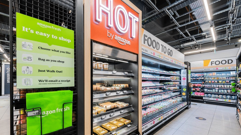 Amazon Fresh expands cashier-less grocery stores to London