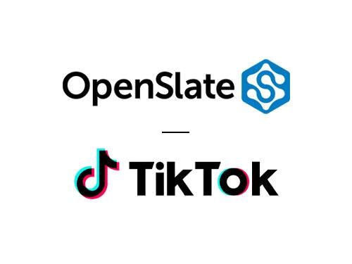 TikTok expands brand safety partnership with OpenSlate