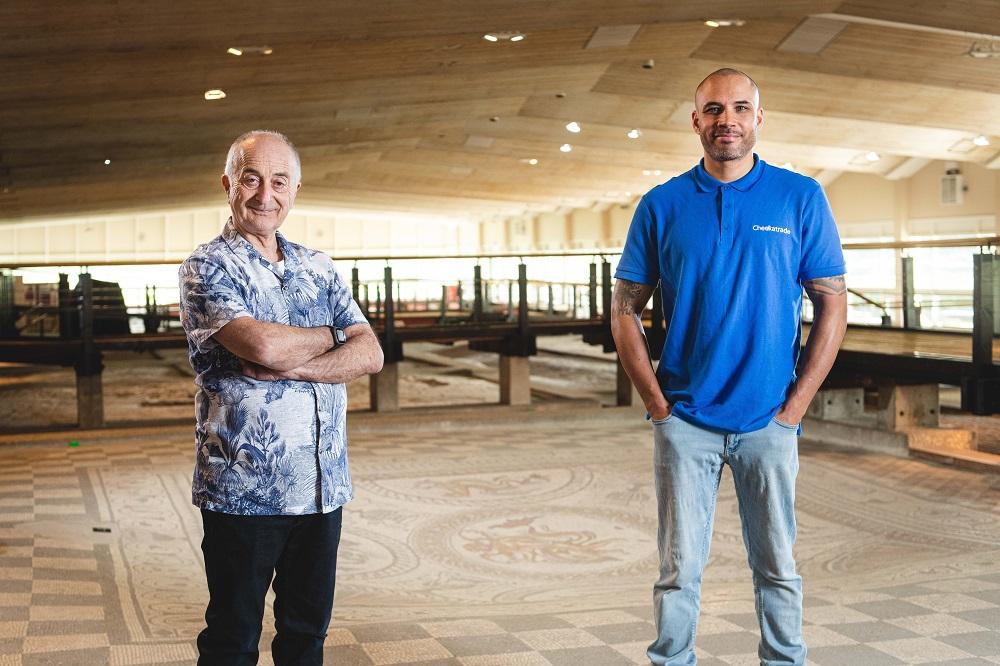 Checkatrade explores Roman roots with Tony Robinson in new campaign