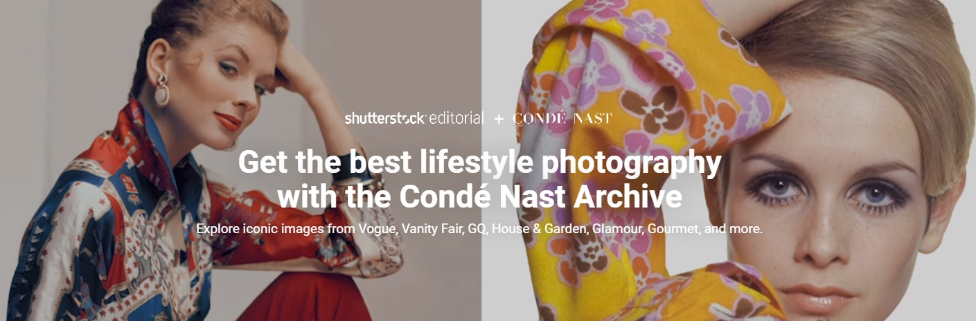 Shutterstock partners Condé Nast for iconic archive collection