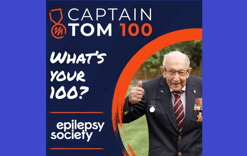 Epilepsy Society asks people to channel their inner Captain Tom to raise vital funds