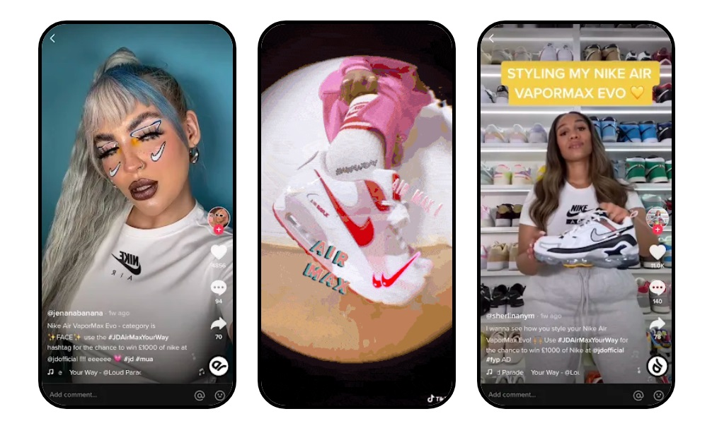 OK COOL launches TikTok Studio: Nike and JD Sports first to sign up