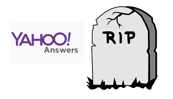 End of an era: Yahoo! Answers shuts down after 16 years