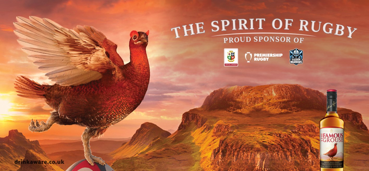 The Famous Grouse expands 'The Spirit of Rugby' campaign