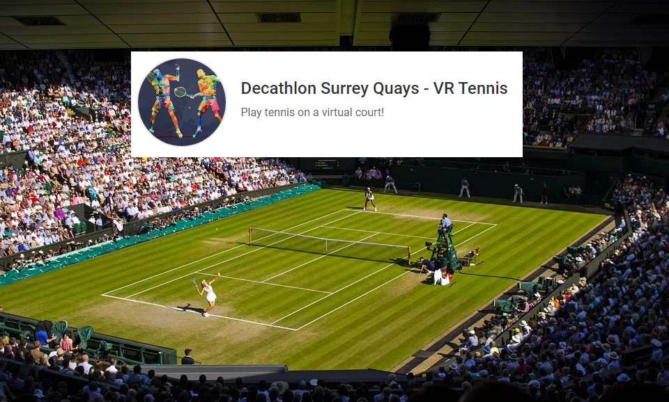 Decathlon UK launches World Premiere of Tennis Esports at flagship store
