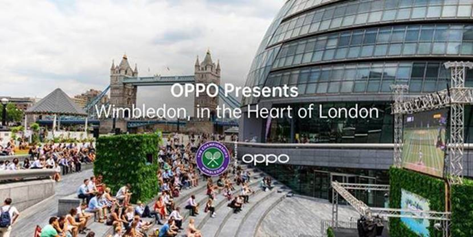 OPPO launches pop-up screening event for Wimbledon