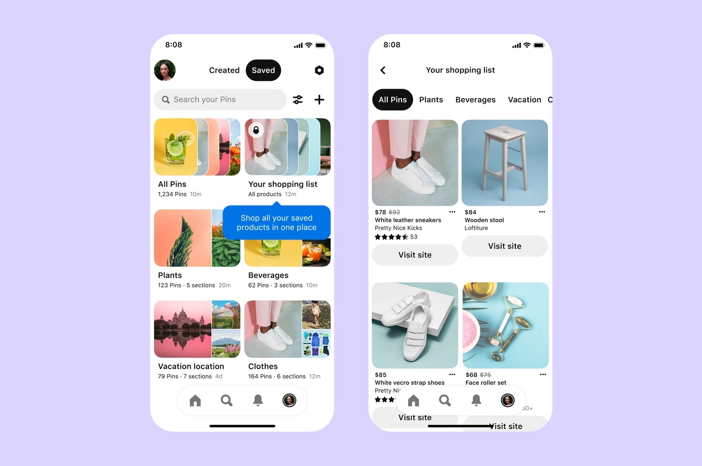 Pinterest rolls out more shopping and AR features