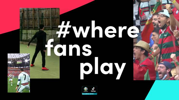 TikTok launches football content on platform during EURO 2020