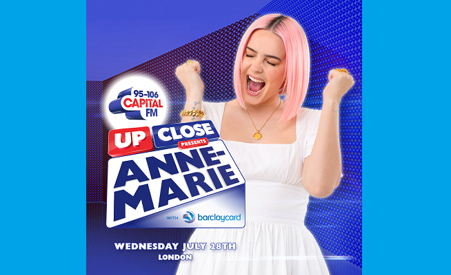 Barclaycard sponsors summer gigs with AR campaign starring Anne-Marie
